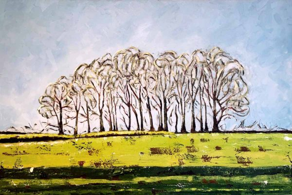Tara-higgins-strong-roots-oil-wax-painting-hsquared-gallery-fernie