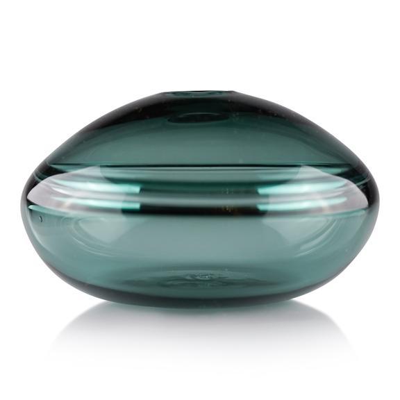 Dougherty-glass-bud-vases-squat-sea-foam